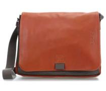 Punch Casual 49 Laptop Messenger 14″ grau/braun