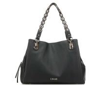 Brillante Handtasche schwarz