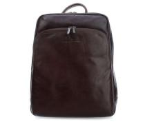 Firenze Laptop-Rucksack 15″ dunkelbraun