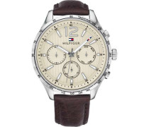 Casual Sport Chronograph silber
