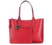 Handtasche rubinrot