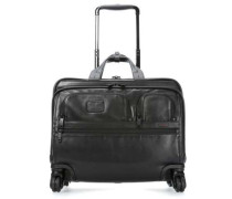 Alpha Business Leather 2-Rollen Trolley 17″