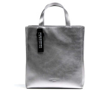 Paperbag PaperbS Handtasche silber