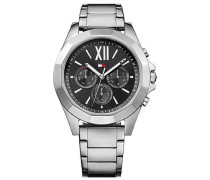 Sophisticated Sport Chronograph silber