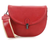Madame Chic Pascale Schultertasche rot