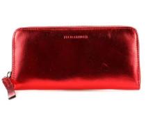 Tawny Geldbörse rot metallic