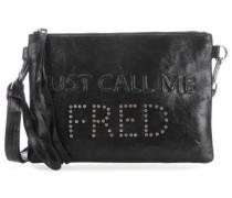 Call Me Fred Schultertasche schwarz metallic