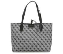 Bobbi Reversible Shopper schwarz/weiß