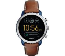 Q Explorist Smartwatch silber