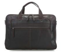 The Chesterfield Brand Ryan Laptoptasche 17″ dunkelbraun
