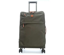 X-Travel 4-Rollen Trolley olivgrün 65 cm