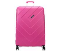 Kalisto 4-Rollen Trolley pink 76 cm