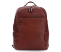 Black Square Laptop-Rucksack 14″ tan