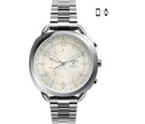 Q Accomplice Hybrid-Smartwatch silber