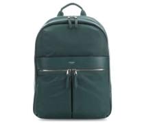 Mayfair Beauchamp Laptop-Rucksack dunkelgrün