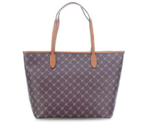 Cortina Lara Shopper brombeer