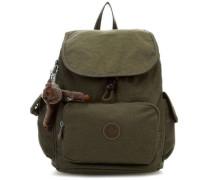 Basic City Pack S Rucksack olivgrün