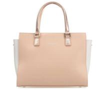 Intemporel Handtasche pink/weiß