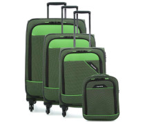 Derby 4-Rollen Trolley Set grün