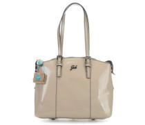 Black Amanda S Handtasche beige