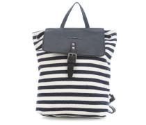 Pack Me! Rucksack blau/weiß