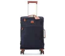 Life 4-Rollen Trolley blau 55 cm