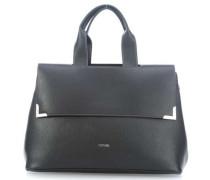Doppio Handtasche schwarz