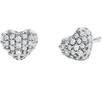 Hearts Ohrringe silber