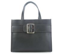 Tommy Buckle Handtasche schwarz