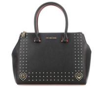 Profile Of Studs Handtasche schwarz