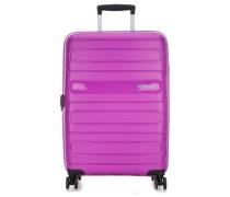 Sunside 4-Rollen Trolley violett cm