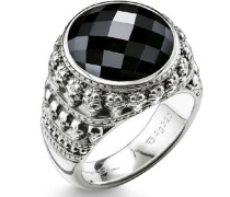 Rebel at heart Ring silber