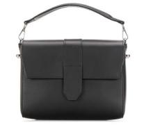 Leather Classic Berit New Schultertasche schwarz