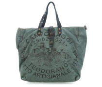 Lavaggio Stone Teodorano Shopper dunkelgrün
