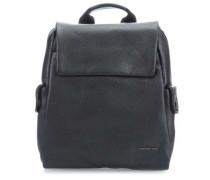 Mellow Leather Rucksack schwarz