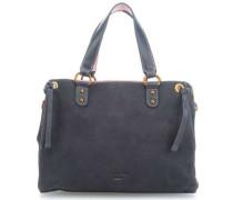 Luftikus Handtasche blaugrau