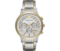 Chronograph gold/silber