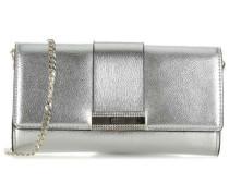 Highlight Clutch silber metallic