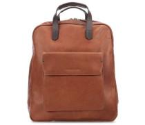 Ivy lane Laptop-Rucksack 14″ cognac
