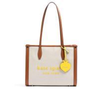 Shopper beige/braun