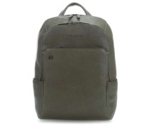 Black Square Laptop-Rucksack 14″ olivgrün