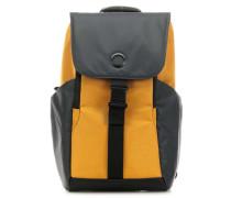 Securflap Rucksack 15″ grau/gelb
