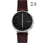 Connected Signatur Hybrid-Smartwatch silber