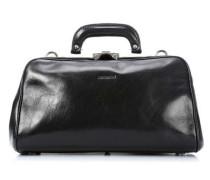 Reisetasche schwarz 37 cm