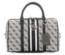 Vintage Handtasche schwarz/grau