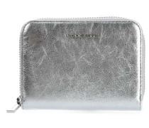 Metallic Glitter Geldbörse silber metallic