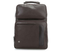 Erse Laptop-Rucksack 15,6″ dunkelbraun