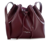 Pur Smooth Beuteltasche bordeaux