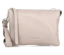 Feather Schultertasche taupe