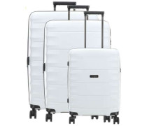 Highlight 4-Rollen Trolley Set hellgrau